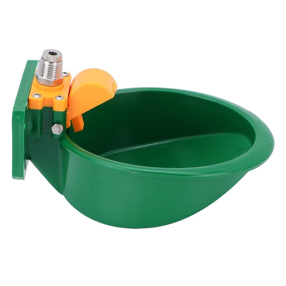 Hffheer Automatic Sheep Water Bowl Professional Automatic Water Bowl Automatic Float Valve Water Trough Livestock Drinking Bowl with Touch Switch