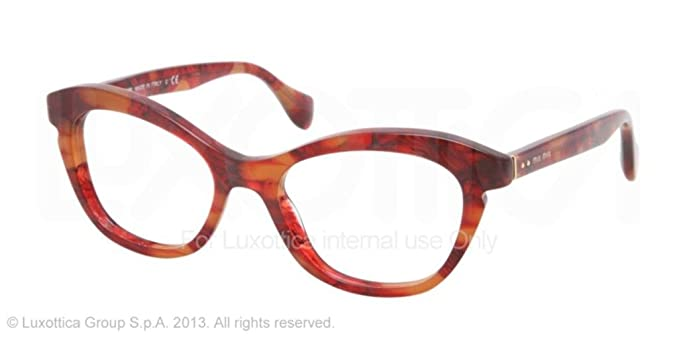 6f41c85ea6 Image Unavailable. Image not available for. Color  MIU MIU Eyeglasses ...