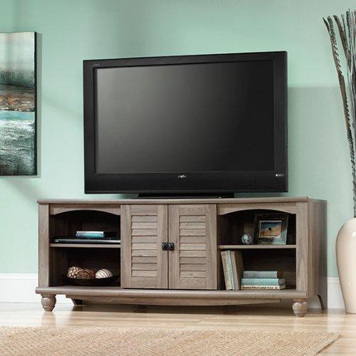 Sauder Harbor View Entertainment Credenza Sao (Salt Oak Tv Stand)