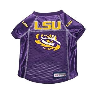 Louisiana State LSU Tigers Dog Pet Premium Alternate Jersey w/ Name Tag XL