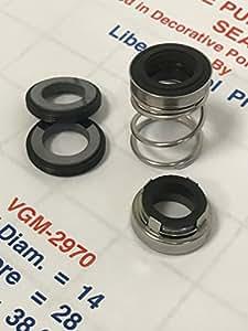 lpp-vgm-2970–Bomba de libertad sellos Aquascape Bomba de repuesto arandela por la libertad piscina productos se utilizan estos sellos en decorativa para estanques y cascadas