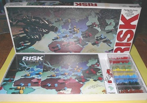 Vintage Risk Game: 1980 Collectors Edition With Roman Numerals by Parker Brothers