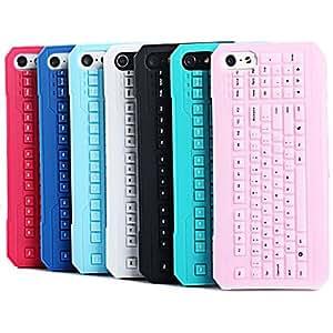 compra Joyland Teclado patrón TPU nuevo caso para el iPhone 5/5S (colores surtidos) , Rojo