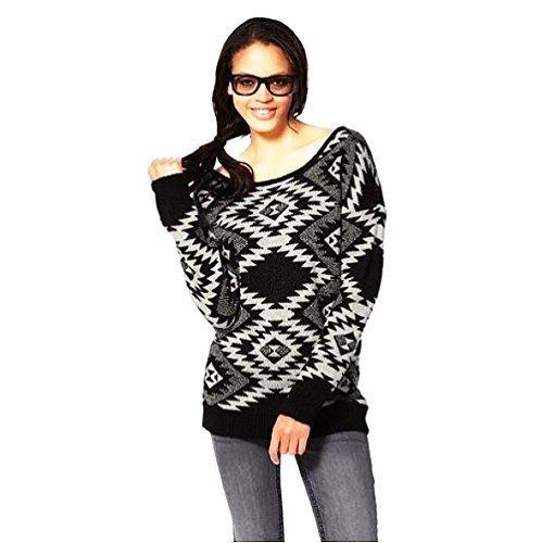 Trend blanco Jersey Negro Punto Y Fashion Noruega Blanco Kangaroos Negro Ladies De gnR88Eq