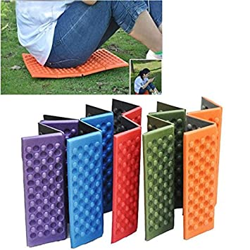 Amazing Porfiya Foldable Folding Outdoor Camping Mat Seat Foam Xpe Cushion Portable Waterproof Chair Picnic Mat Pad 5 Colors Send In Random Ibusinesslaw Wood Chair Design Ideas Ibusinesslaworg