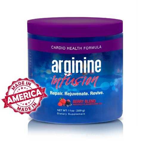 L-Arginine Infusion Cardio Health 5,000mg L-arginine, 1,000mg L-citrulline, CoQ10, & AstraGin net wt. 11 oz (309 g) by L-Arginine Infusion