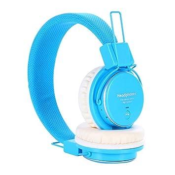 Auriculares Inalámbrico Diadema, Bluetooth 4.0 Plegable Hi-Fi Estéreo Con 3.5 mm Audio Jack