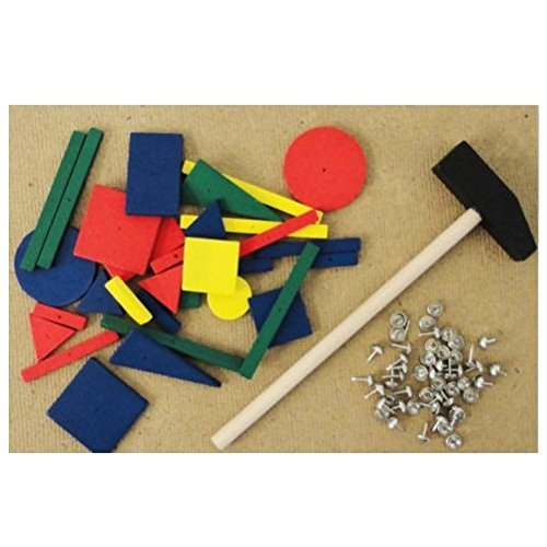 Great Gift For Kids Tap Tap Art Toy Hammer And Wooden Shape Hammering Game Toys Game Play Kids Childrens Child Toddler Baby Cool Activity Educational Creative Fun Special Unique Devlopment Development