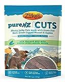 Zuke's PureNZ Cuts Dog Treats, New Zealand Beef with Green Lipped Mussel Recipe, 5-Ounce