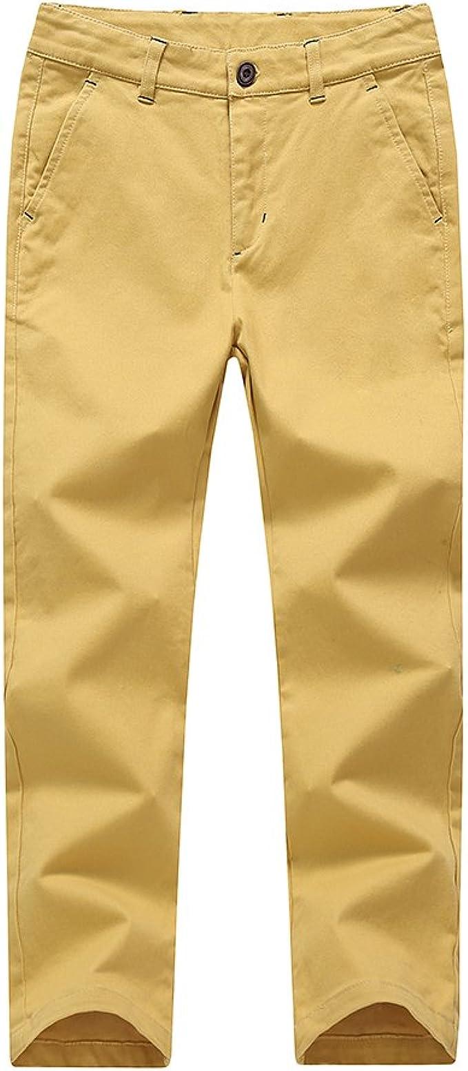 School Uniform Boys Elastic Turn Up Trouser