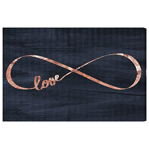 The Oliver Gal Artist Co. ''Infinite Love'' Canvas Art, 36'' x 24'' by The Oliver Gal Artist Co.