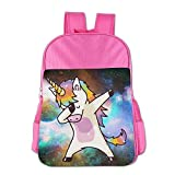 Hip Hop Unicorn Rainbow School Backpack For Girls Boys Cute Bookbag Outdoor Daypack