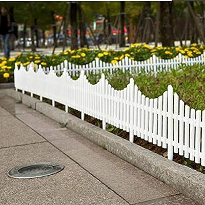 NICEXMAS - 5 vallas de jardín para interiores o exteriores, jardín de infantes, jardín, verduras, pequeñas vallas de Navidad, decoración (61 x 33 cm): Amazon.es: Hogar