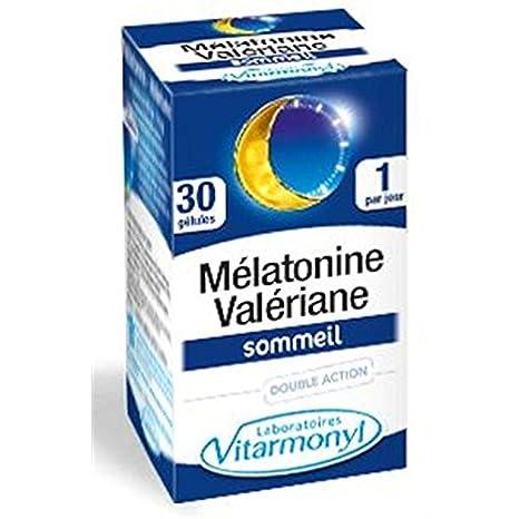 vitarmonyl Melatonina Valériane 30 Cápsulas 12 g precio unitario - envío rápido y entrecruzado: Amazon.es: Salud y cuidado personal