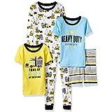 Boys Pajamas Red Dinosaur100% Cotton Toddler...