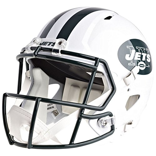 New York Jets Officially Licensed Speed Full Size Replica Football Helmet by Riddell