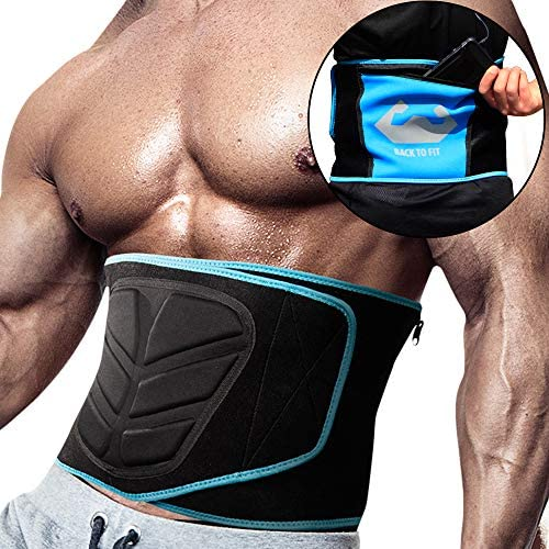 Back To Fit Waist Trimmer for Men and Women for Workout and Sweat ABS 1