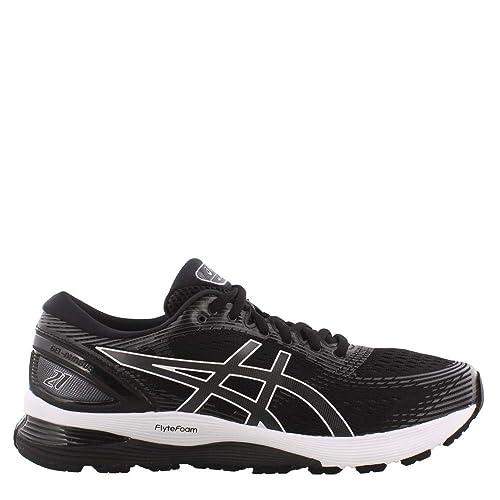 ASICS Herren Gel Nimbus 21 (4E) Schuhe, 43.5 XW EU, BlackDark Grey
