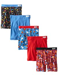Fruit of the Loom Boys Boys Toddler Boxer Brief 5-Pack Boxer Briefs