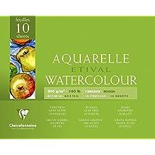 Etival 300g Watercolour 24x30cm Block ROUGH - 10 sheets