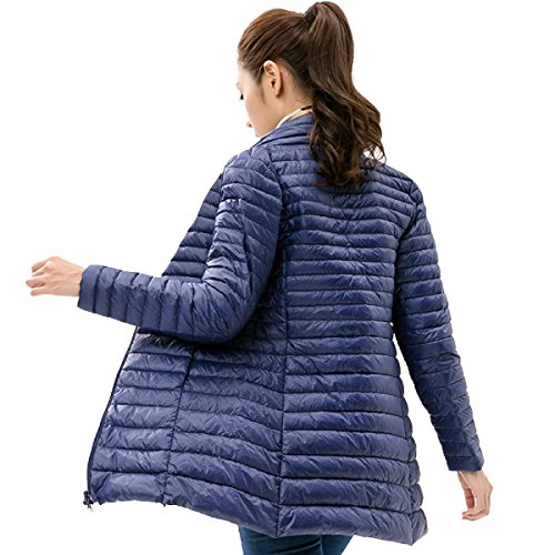 Autumn Outwear And Personality cultivation H Section Lady Fashion Winter Self Down Long Thin Eiderdown Cute Jacket Coat Down Xqx4Yd