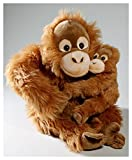 Soft Toy Monkey sitting Orang Utan with Baby 11 (sitting) [Toy] by Carl Dick GmbH