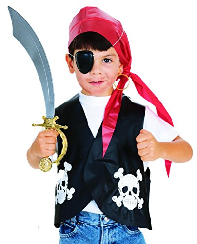 Rubie's Costume Child's Pirate Dress-Up Kit ()