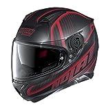 Nolan N87 Harp Black/Red Full Face Helmet, M