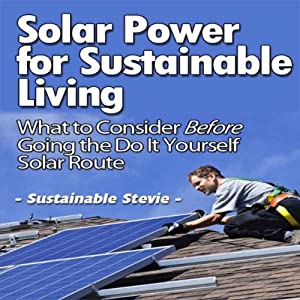 Solar Power for Sustainable Living Hörbuch