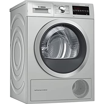 Bosch Serie 6 WTG8729XEE Independiente Carga frontal 9kg A++ Acero ...