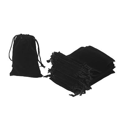 HRX Package 20 Bolsas de Terciopelo con cordón, 12 x 18 cm ...