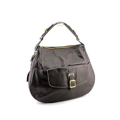 Lauren Ralph Lauren Rafferty Hobo Womens Black Purse Leather Hobo