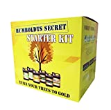 Humboldts Secret Starter Kit - World's Best Nutrient System: Base A & B, Golden Tree, Flower Stacker, Plant Enzymes and CalMag & Iron