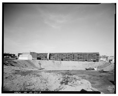 Photo: Crosscut Steam Plant,Tempe,Maricopa County,Arizona,AZ,HABS,Mill - Tempe Az Mills Arizona