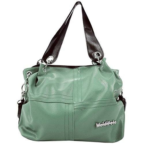 Women Shoulder Fashion Lady R light Leather Messenger Tote Satchel SODIAL Bag green Handbag Crossbody Eq0pUwU