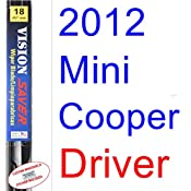 2012 Mini Cooper Coupe Wiper Blade (Driver) (Saver Automotive Products-Vision Saver