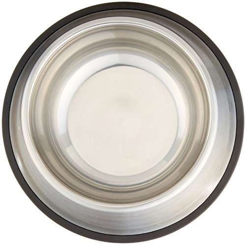 AmazonBasics-Stainless-Steel-Dog-Bowl