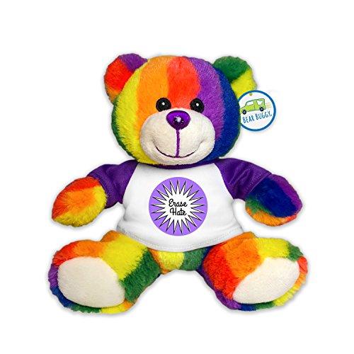Totally Pride JR Teddy Bear, Erase Hate by RGU -