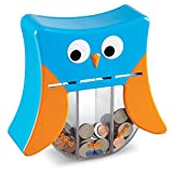 Learning Resources Wise Owl Teaching Bank Toy (4 Piece), Multicolor