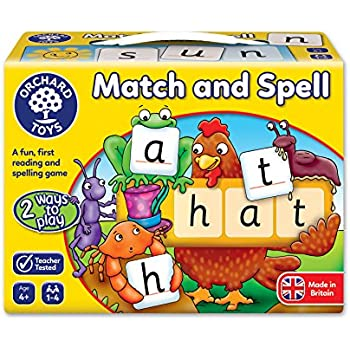 Match & Spell Puzzles