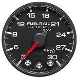 Pro Parts P321328 Spek-Pro 2-1/16'' Electric Fuel Rail Pressure Gauge (3-30K PSI, 52.4mm)