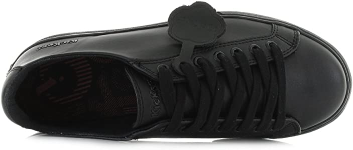 Kickers Unisex Teen Tovni Lacer Lthr Yu Trainers