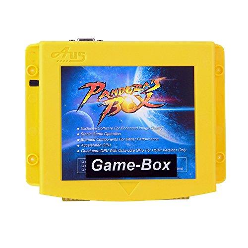 Pandora box 4X <800 in 1> Jamma Arcade Cabinet Game Box, Arcade Kit Diy,  Classics Fighting Games Board For LCD/ CRT(15kHz) Monitor