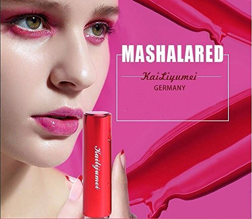 Pro Kailijumei Flower Jelly Lipstick Moisturizer Long Lasting Nutritious Lip Balm Lips Magic Color Temperature Change with Mirror (Barbie Pink)