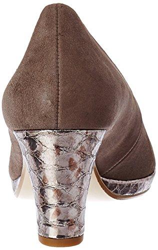 Gabor 13 con Anthrazit Tacco Marrone Fango Scarpe Comfort Shoes Donna g6nrHxqgwa