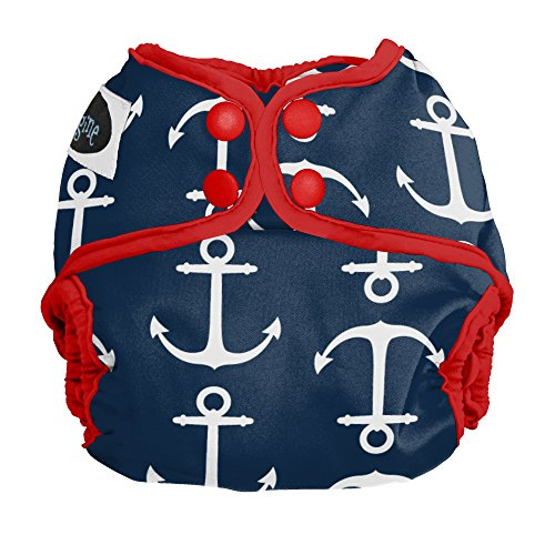 Price comparison product image Imagine Baby Products Newborn Snap Diaper Cover,  Overboard