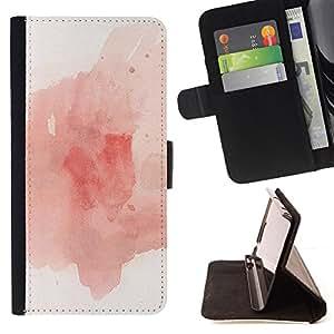 "For Sony Xperia Z5 Compact Z5 Mini (Not for Normal Z5),S-type Paint Splash Expresionista Arte"" - Dibujo PU billetera de cuero Funda Case Caso de la piel de la bolsa protectora"