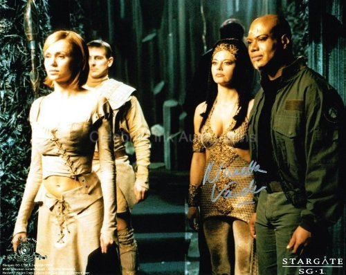 MUSETTA VANDER as Shan'auc - Stargate SG-1 Genuine Autograph from Celebrity Ink