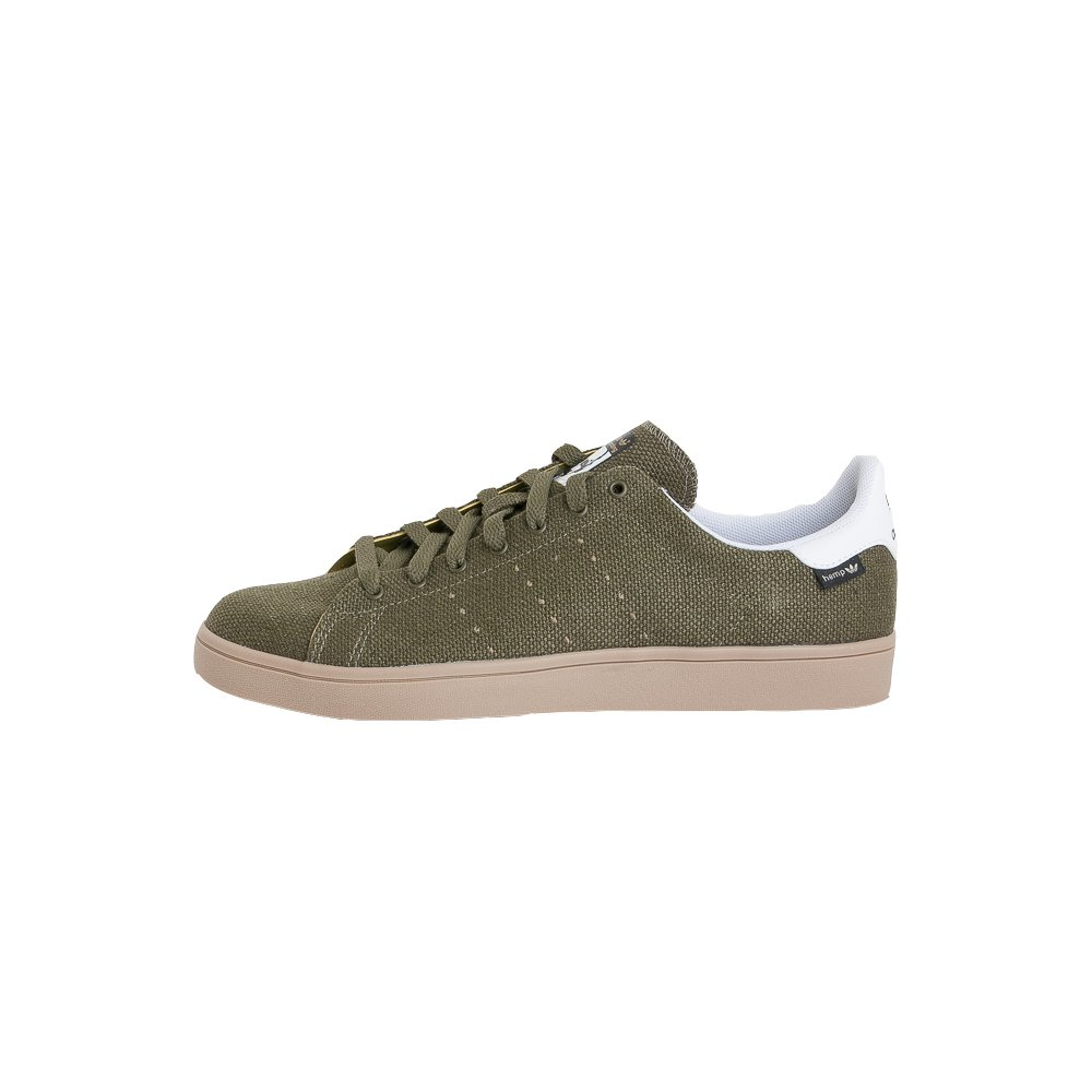 wholesale dealer 2436c c6d28 adidas Stan Smith Vulc Shoes Hemp Green White Gum UK 7 ...