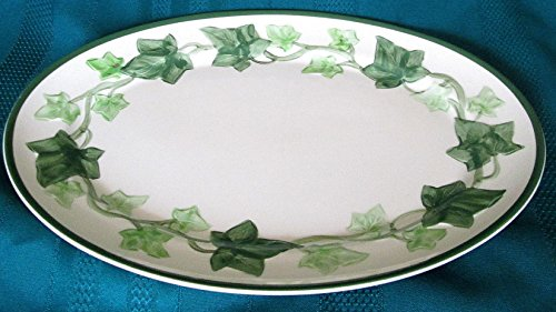 Franciscan Earthenware Ivy Platter 13 X 10 #X9-71